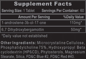 1-Testosterone Ingredients