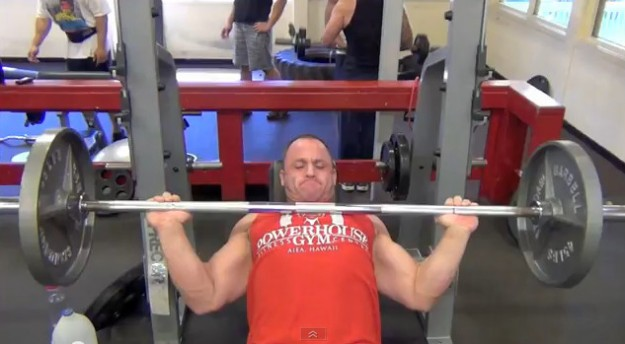 Chest Workout with Jed Hodge - Tucking those Elbows in