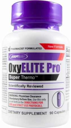 The New OxyELITE Pro Formula for Natural Fat Loss