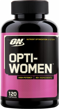Optimum Nutrition Opti-Women is The Trusted and True Women's Multi!