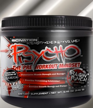 Scivation Psycho is Coming!