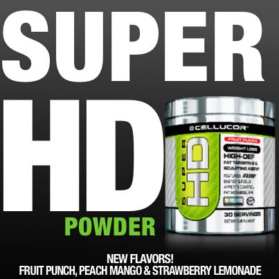 Click Here to see Cellucor Super HD Powder - Coming Soon!
