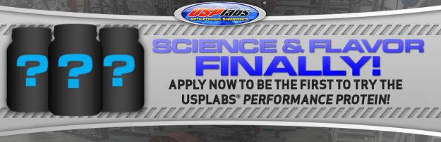 USPLabs Protein Beta Testing Applications are Now Open!