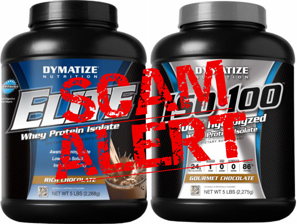 BEWARE: Possible Dymatize Protein Fraud Inside!