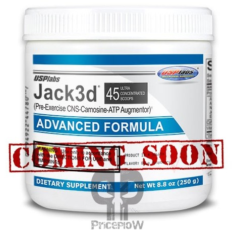 USPLabs Discontinues DMAA – Jack3d Advanced in the Works