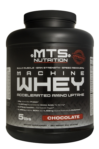 Our preferred whey concentrate: MTS Nutrition Machine Whey