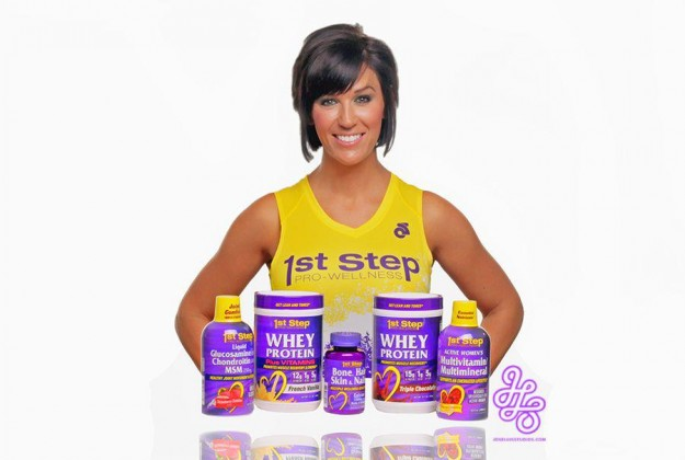 Katie is a Rep for 1st Step Pro Wellness