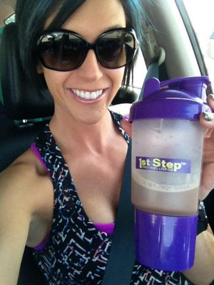 1st Step Pro Wellness Whey Protein - Katie Cates
