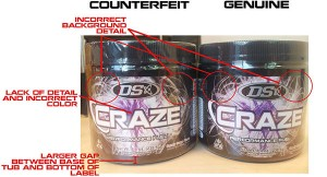 Craze was hit with a counterfeit scandal of its own... further muddying the issues debated above