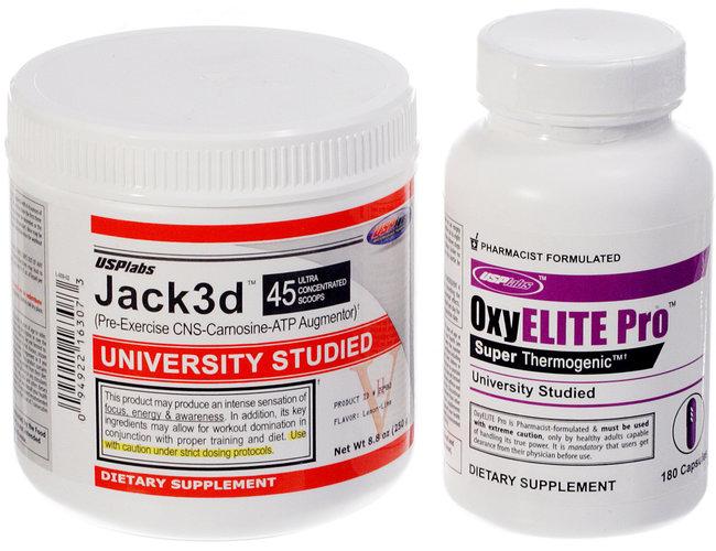 Jack3d OxyELITE Pro DMAA