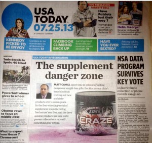 Matt Cahill Featured in USA Today