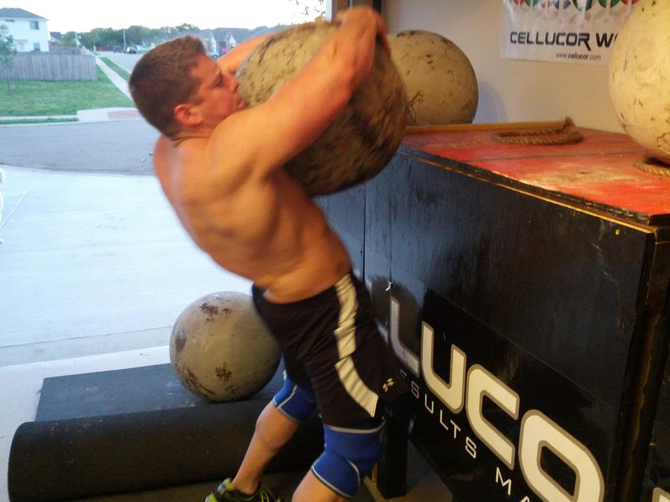 Strongman Training with Nick Klugiewicz