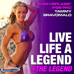 Tammy has long been USPLabs' Sponsored IFBB Figure Pro
