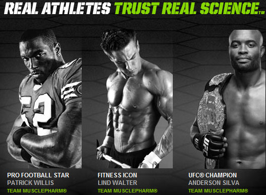 MusclePharm celebrity endorsers