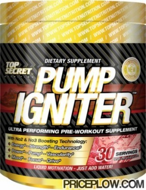 Top Secret Nutrition Pump Igniter