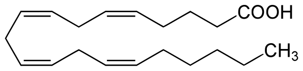 Arachidonic acid chemical structure