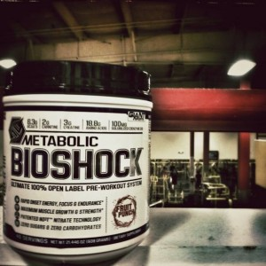 Metabolic BioShock - Another Non-Proprietary Formula from Giant Sports
