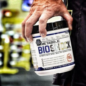 Metabolic BioShock - My #1 Cardio Pre Workout - with a small drop!