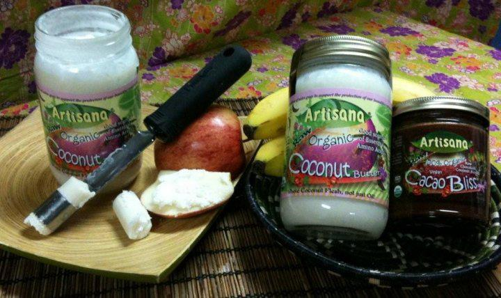 Artisana Foods organic Coconut Butter and Cacao Bliss
