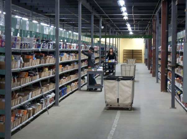 Netrition's climate-controlled warehouse space