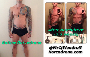 Norcodrene Before and After