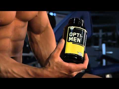 Optimum Nutrition's Opti-Men is specifically formulated for men's health needs.