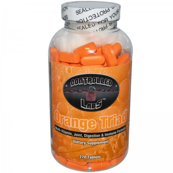 Controlled Labs puts out a multivitamin for joint, digestion, and immune health - Orange Triad