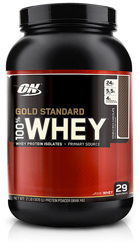 Optimum Nutrition 100% Whey Protein - THE Gold Standard
