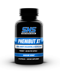 SNS Nutrition's Phenibut-XT promotes relaxation and is known for its nootropic effects.