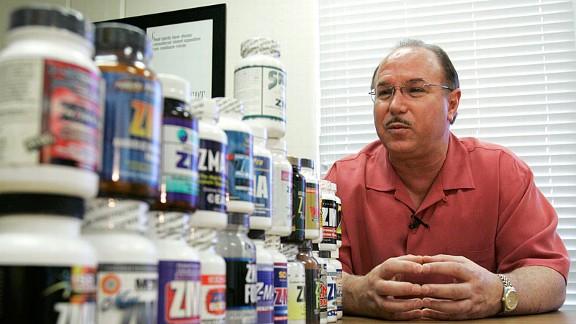 Victor Conte, BALCO Laboratories founder.