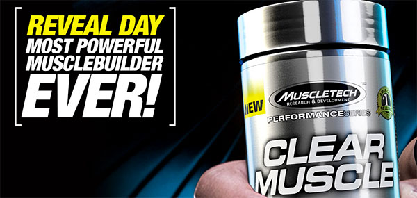MuscleTech Clear Muscle is Coming! Read the research, and if you like it, get product notifications from PricePlow here!
