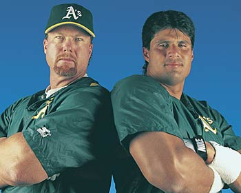 Jose Canseco Mark McGwire - More than just Creatine Users