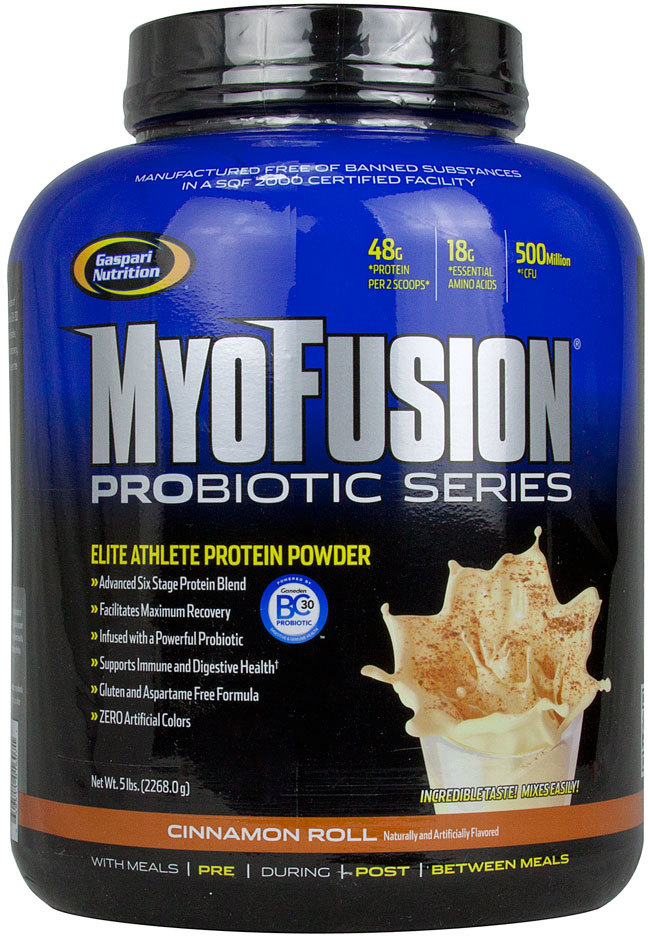 Protein with probiotics