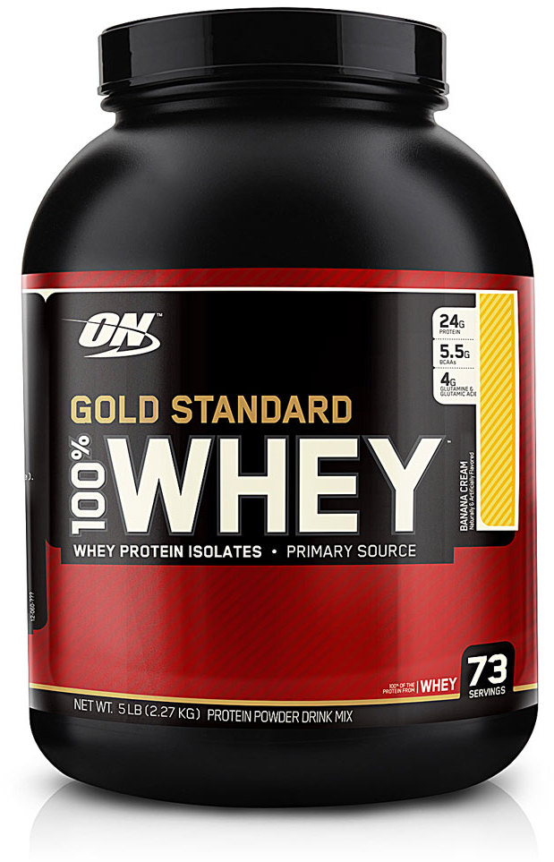On gold standard 100 whey protein