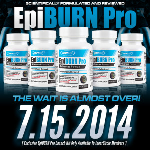 The EpiBURNPro Release Date for USP's insiders is is July 15, 2014 - Stores and online retailers should have it shortly after that