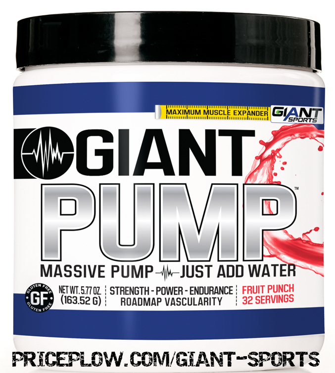 Giant PUMP from Giant Sports - 100% open and honest formula