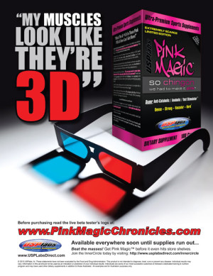 Pink Magic and 3D Muscles