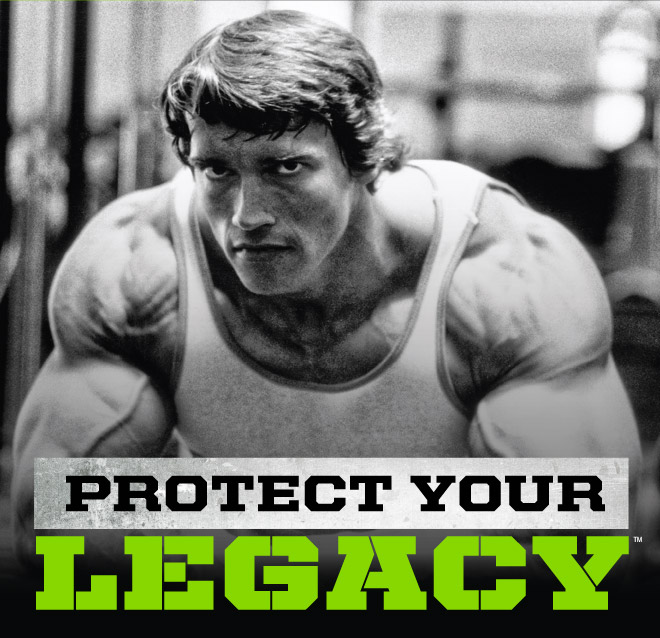 Is Arnold protecting his legacy with this product line?