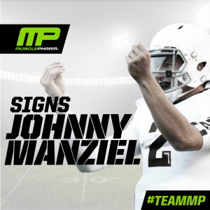 MusclePharm now sponsors Johnny Manziel of the Cleveland Browns