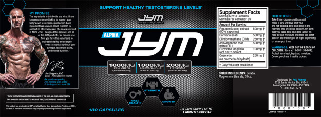 The Alpha JYM Label
