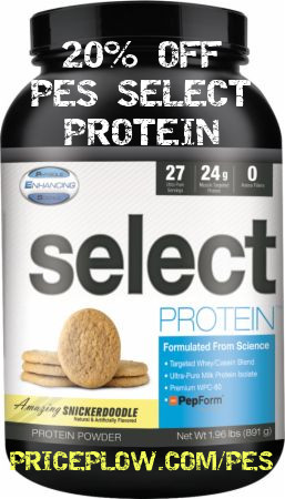 PES Select Protein is on Discount!