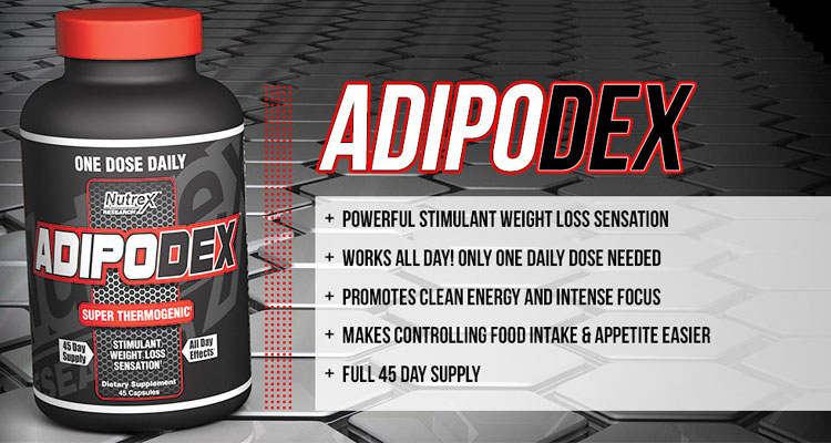 Adipodex May Be Long Gone Due To The Ban On AMP Citrate But Nutrex Crafted A Very Suitable Replacement With Lipo 6 Rx