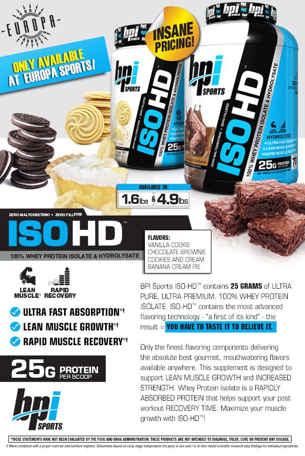 BPI Sports ISO-HD