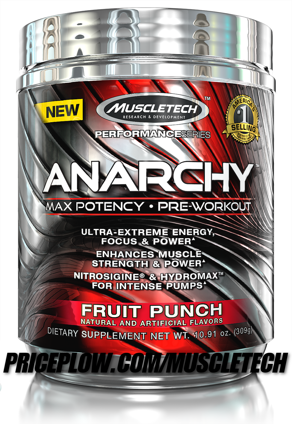 MuscleTech Anarchy - Creatine-Free