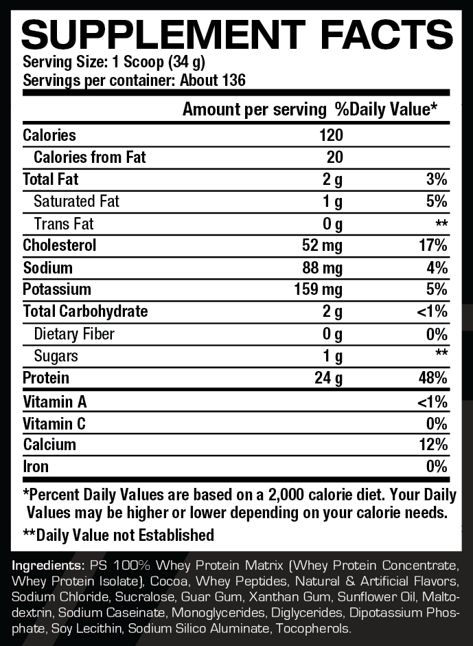 Whey Protein Powder at the Lowest Prices! Vade Nutrition % Whey Protein Isolate Dissolvable Protein Scoops, 20 Servings.