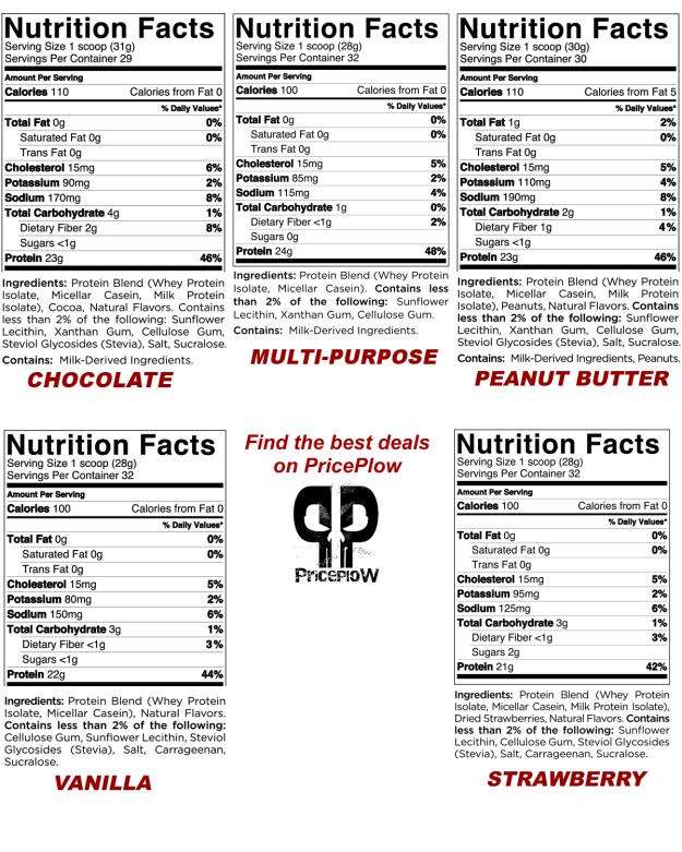 Quest Protein Ingredients