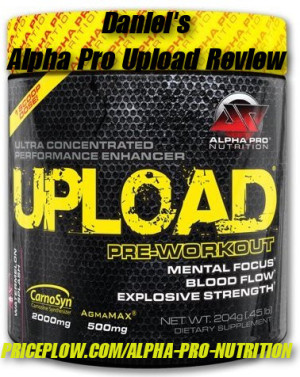 Alpha Pro Nutrition Upload Review
