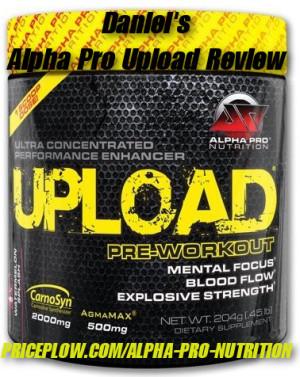 Alpha Pro Nutrition Upload Review