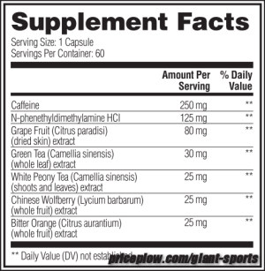 Dexamine Black Ingredients