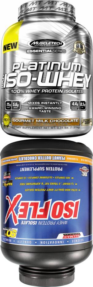 ALLMAX IsoFlex vs. MuscleTech Platinum 100% Iso Whey